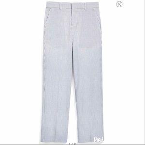 NWT Nordstrom Blue Seersucker Boy Pants Size 7